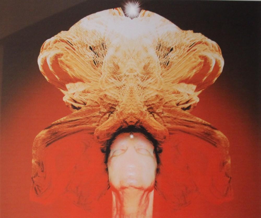 """Zdzisław Beksiński, """"Bez tytułu"""", grafika komputerowa, 65×45 cm, cena – niedostępny"""