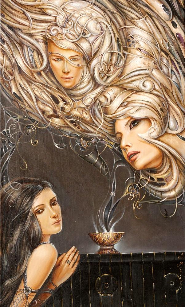 """Anastazja Markowicz, """"Magia"""", olej na płótnie, 30×50 cm, niedostępny"""