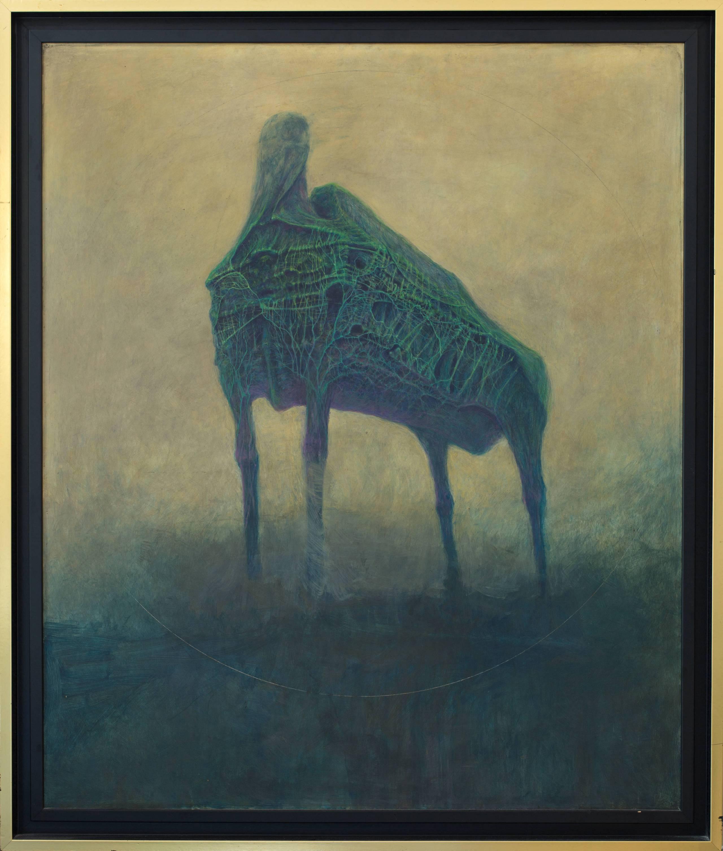 Bez tytułu, olej na płycie, 86 x 71 cm, cena – niedostępny