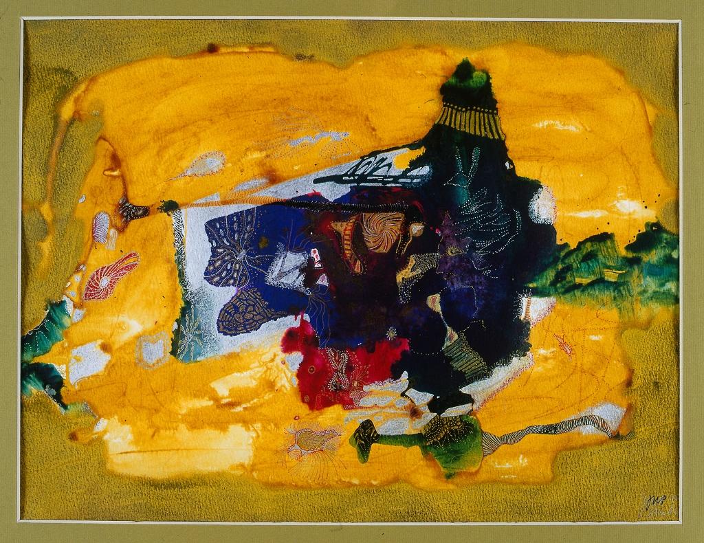 """""""Dzień Ugrowy"""", 2016, grafika żel-art, egz. 2/50, 38 x 55 cm, cena – 2 450 zł"""