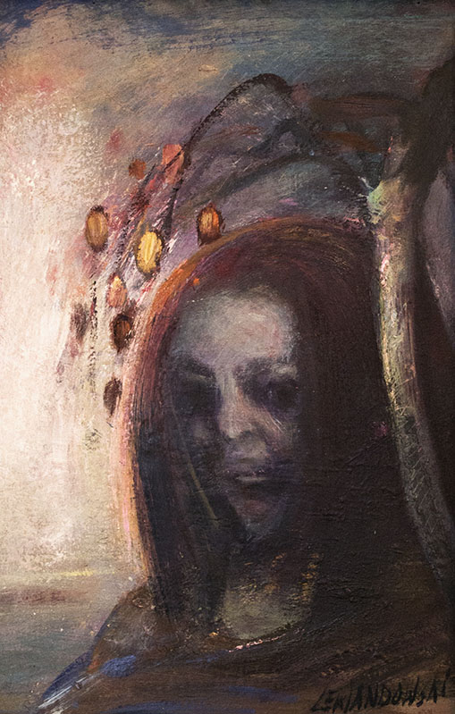 """""""Niobe"""", 2018, olej na płycie, 33 x 50 cm, cena – 10 000 zł"""
