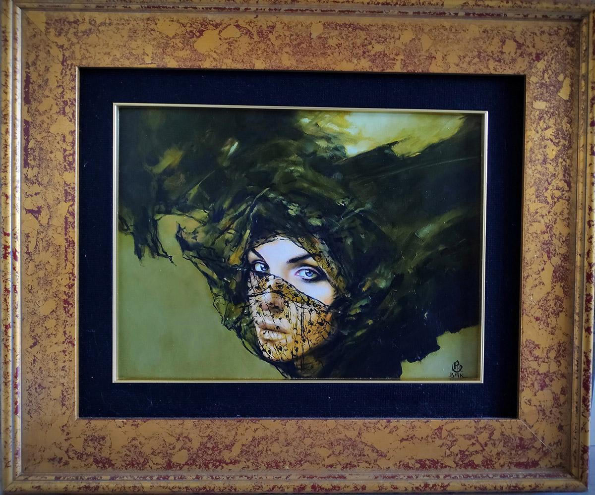 Karol Bąk, 40×30 cm, olej na płycie