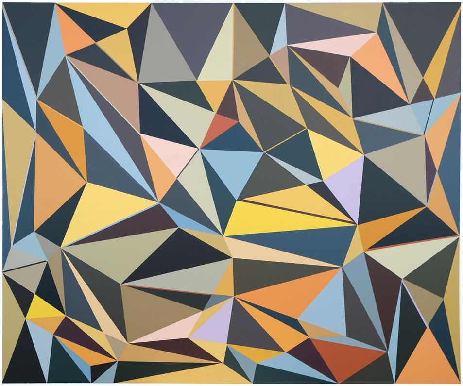 Malwina Puszcz, #5D5251, akryl na płótnie, 100×120 cm, 2020